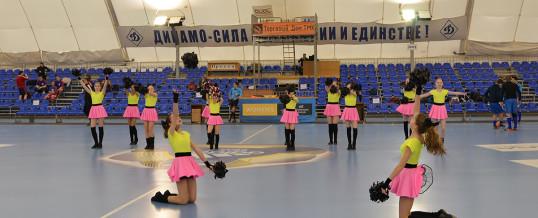5 апреля 2015г. Стадион Динамо, выступление на матче футбольных команд